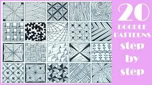 Zentangle Patterns Easy Simple Inspiration Design