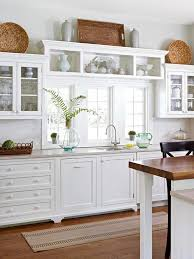 Amazing Kitchen Cabinets With Windows Best 25 Above Cabinet Decor ...