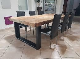 Grande Table Salle A Manger Table Blanche Avec Rallonge