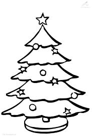 Grote Kleurplaat Kerstboom