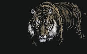 Wallpaper Hd Tiger 3d - HD Blast