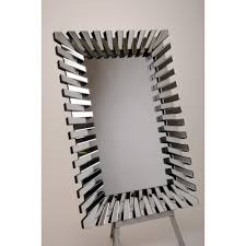 large contemporary zip mirror 100x140cm mirrors75 contemporary