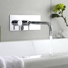 wall mounted faucet best small bath modern tub fillers images on regarding wall mounted bathtub faucets