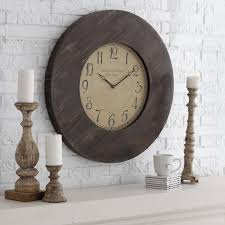 unique oversized rustic wall clocks extra large contemporary the unusual