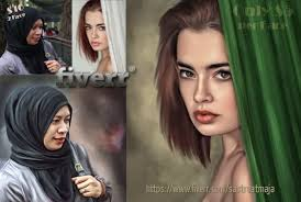 turn your portrait into oil digital painting style by sastraatmaja