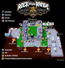 Rock On The Range Seating Chart 2016 Rock On The Range