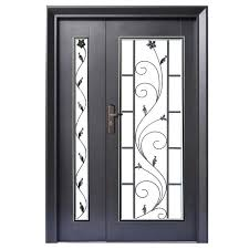 black security door 5 ft x 7 ft safety door security door 5 x 7 larson geneva black steel security door black security door seal kit