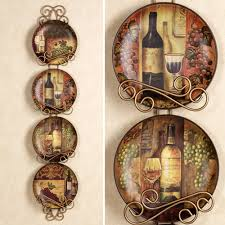 Plates Wall Decor Decorative Wall Plates Set Kitchen And Dining Room Wall Decor