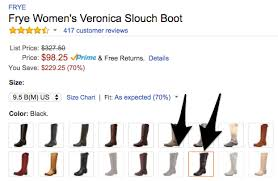 Frye Womens Veronica Slouch Boot 98 25 Reg 327 Save