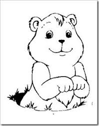 Small Picture ground hog coloring pages and treasure hunt and other good ideas