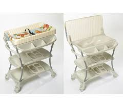 primo baby euro spa baby bath and changing table in white