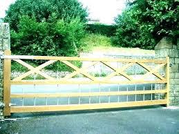wooden driveway gate plans ideas luxury designs garden wood diy gates basic