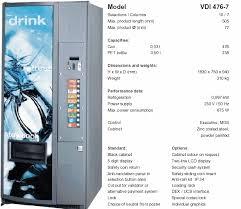 Vm 750 Vending Machine Custom THAMER EST For Vending Machine Food Stuff