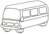 Disegni Di Mezzi Di Trasporto Da Colorare Immagini Per Bambini Da