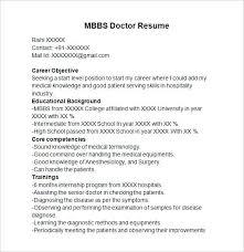 Mbbs Resume Sample Beautiful Resume Sample Doctor Student Templates