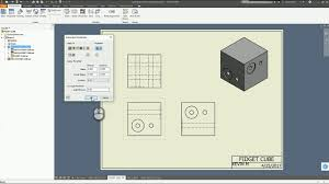 Check out this autodesk inventor quick tip. Autodesk Inventor Drawing Automated Center Lines And Bend Tables Youtube