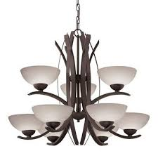 allen roth 34539 lebach 9 light olde bronze chandelier throughout and design 3