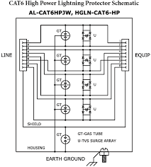 surge protection device wiring diagram wirdig surge protection device schematic on lightning surge protector