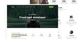 Event Website Template Custom HTML Website Templates From ThemeForest