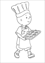 Caillou Coloring Pages Birthday Parties Coloring For Kids