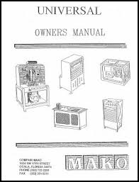 manuals survival air systems attempts to keep the manuals up to date but we cannot guarantee that these manuals are the lastest provided by mako