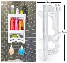 3 Etagen Badezimmer Eckregal Hänge Eckregal Aus Kunststoff Für Die