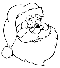 Small Picture Bunch Ideas of Santa Coloring Pages On Download Mediafoxstudiocom