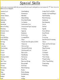 Skills To Include On Resume Enchanting List Of Good Skills To Put On A Resume Free Resume Templates 60