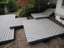 Exterior  Admirable Cozy Outdoor Lounge Area Home For Trex - Exterior decking materials