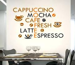 cafe wall decor kitchen creative coffee wall stickers home decor living room decoration modern wall decor cafe wall decor