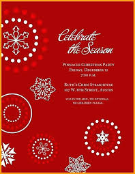 Sample Christmas Party Invitation Party Invitations Sample Sample