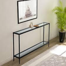 glass table top and storage shelf wf st