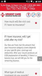 1 minuteclinic costs 40% less than urgent care. Is There A Fixed Cost For Urgent Care In California Quora