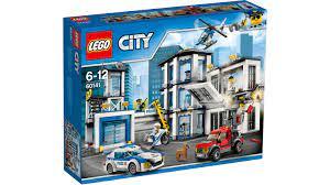 Nơi bán Bộ đồ chơi Lego City 60141 - Trạm Cảnh Sát giá rẻ nhất tháng 10/2021