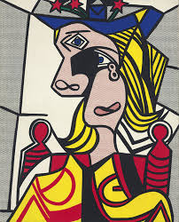 this pop art by roy lichtenstein was painted in 1963 and was inspired by picasso s dora maar in the art world ss of another master s work do not carry
