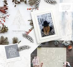 merry christmas greeting card and photography