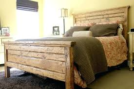 light wood headboard wooden bed frame great king distressed with lights designs size