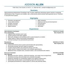 creating a perfect resumes