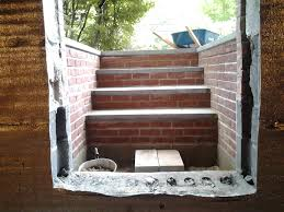 brick basement window wells.  Window Chic Egress Window Wells With Brick Retaining Wall Stair For Home  Design Ideas For Brick Basement Window Wells Jonesclintoncom