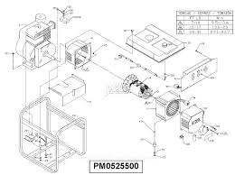 powermate formerly coleman pm parts diagram for generator parts zoom