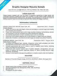 graphic designer resume objective sample graphic designer resume sample  graphic designer resume sample word format