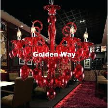 colorful chandelier newly modern lamps for coffee wedding bar blue red yellow glass ball colored stone earrings