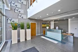 eco friendly office. kingston house serviced office reception area eco friendly