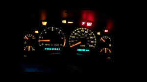 Chevy Trailblazer All Dash Lights On Electrical Issues In 2000 S 10 Blazer Youtube