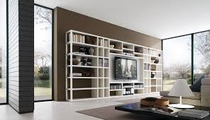 Small Picture Wonderful White Contemporary Tv Storage Units Living Room