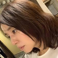 石田ゆり子の髪型 最新一覧とショートヘアボブなどオーダーのコツの
