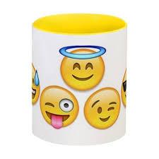 <b>Кружка</b> цветная внутри <b>emoji</b> #1854116 в Москве – купить <b>кружку</b> ...