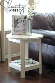 ana white benchright round end tables diy projects white table lamp base white end tables authorstrack
