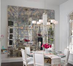Mirror Tiles For Table Decorations Nice Christmas Dining Room Table Centerpieces Ideas With Glass Vase 83