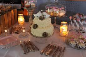 Made My Sister A Simple Wedding Cake And A Small Dessert Table Baking